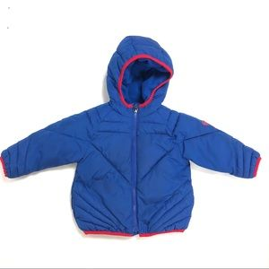GAP superman Puffer Coat Size 2T
